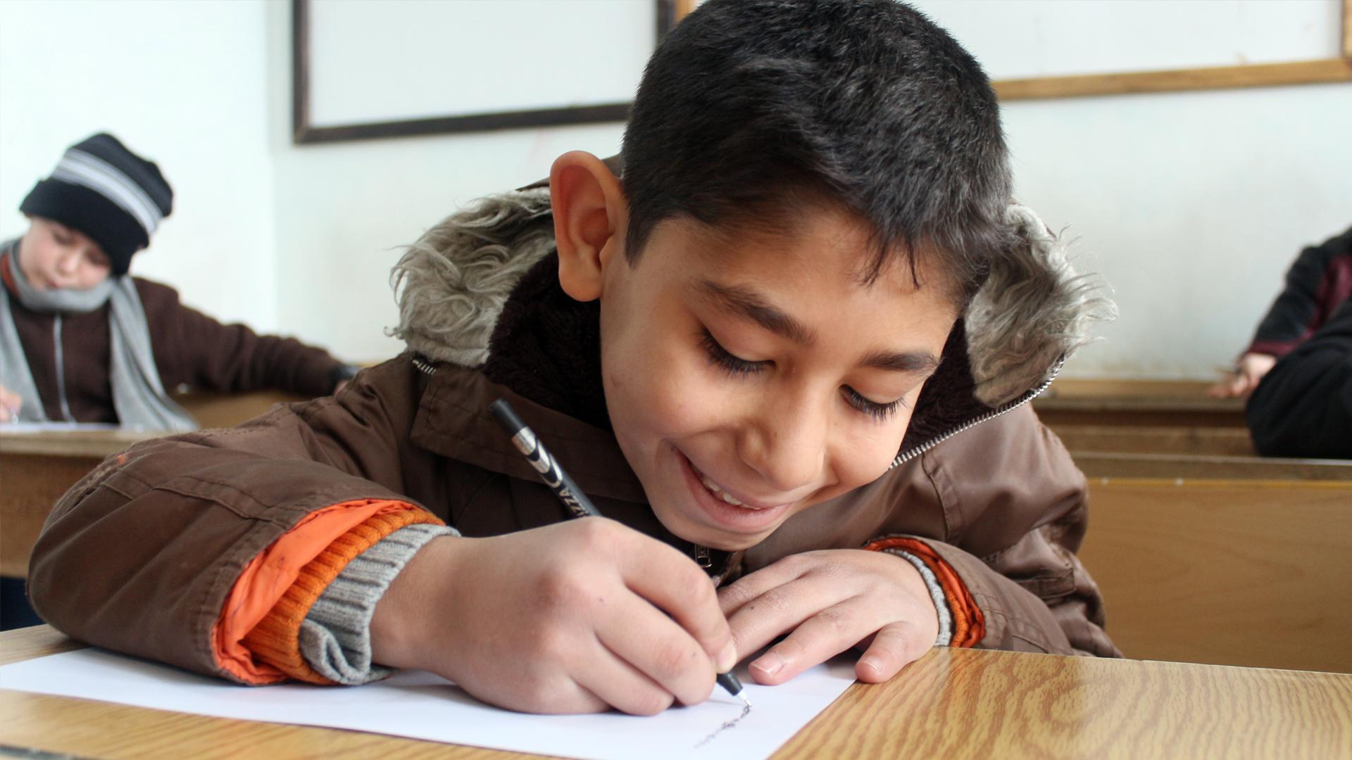 Abna Ashaam Student Ghazi Emad Alsayyad